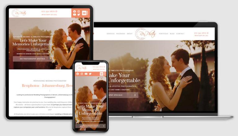 The Place Web Design Table View Developer_Portfolio_Renphotos_Photographer_Website